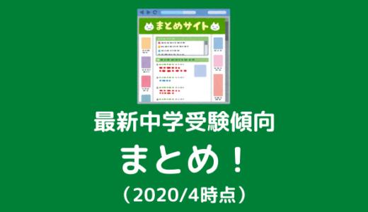 最新中学入試傾向まとめ!(2020/4月時点)